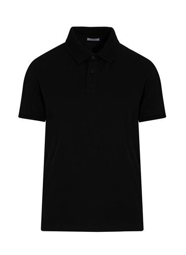 Hatemoğlu Polo Yaka Tişört Siyah